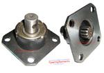 Кронштейн (приставка, стакан) насоса-дозатора короткий Д400-1СБ