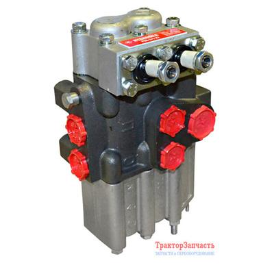 Комплект гидравлики на Мотоблок / Минитрактор с гидробаком, гидрораспределителем Р-80