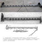 Режущий аппарат косилки КСФ-2.1 (КС-Ф-2.1, КС-2.1) Шумахер